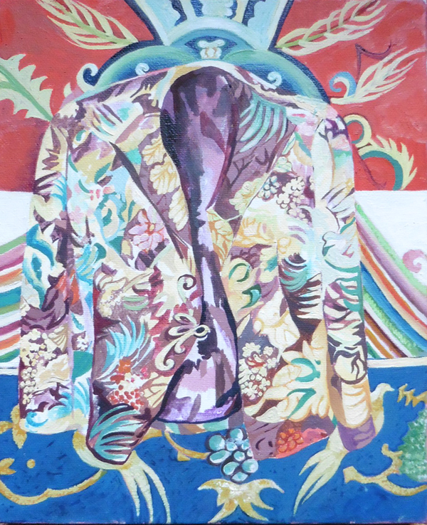 Chinese jacket on a Chinese background2