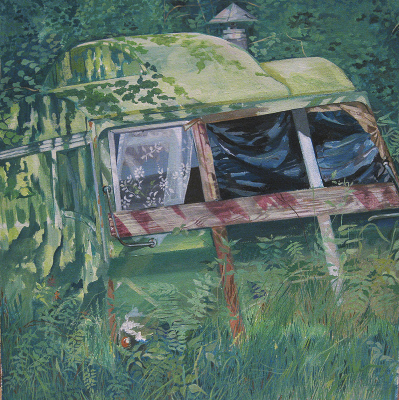 Greta Berlin's caravan