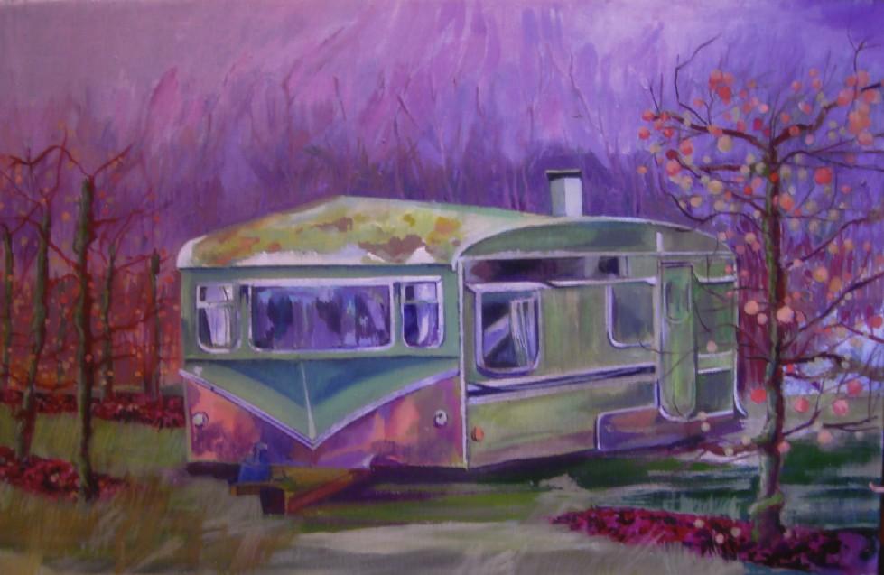 Greta Berlin's other caravan