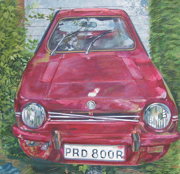 Mr Taylor's Robin Reliant