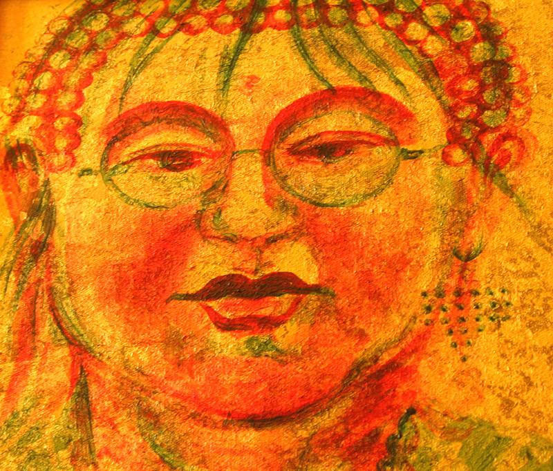 Self portrait as the Buddha