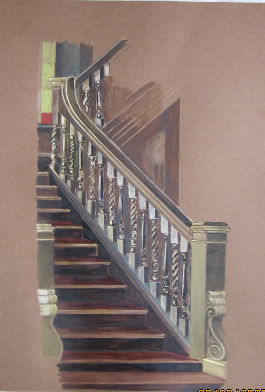 Staircase at Mosborough Hall